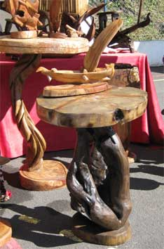 table en sapin