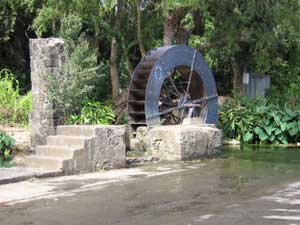 moulin à eau, tour des roches, saint paul
