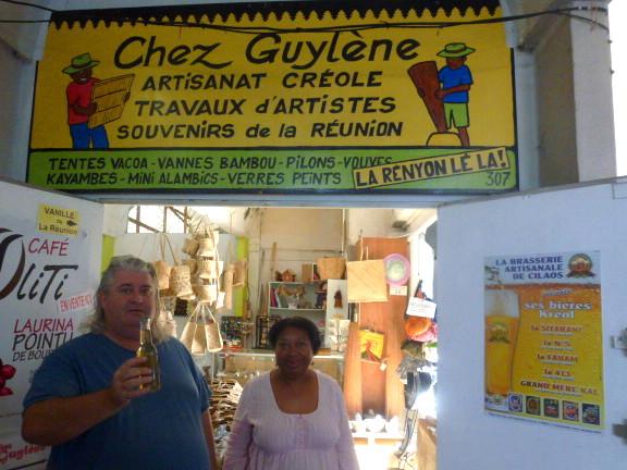 boutique d'artisanat de la Réunion